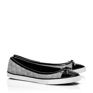 Tory Burch Skyler Flannel Flat Sneaker